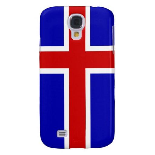 caja de la bandera de país de Islandia