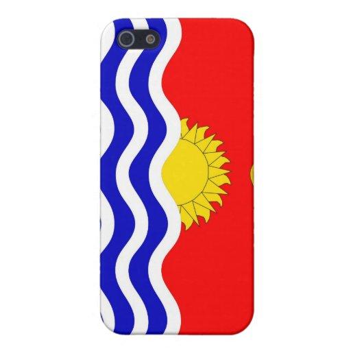 caja de la bandera de país de Kiribati iPhone 5 Carcasa