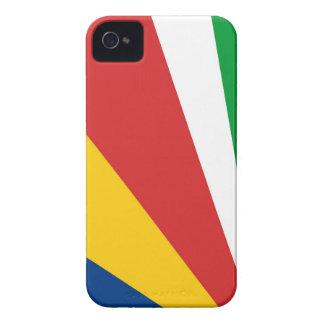 caja de la bandera de país de Seychelles iPhone 4 Protector
