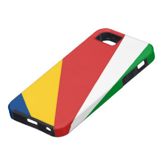 caja de la bandera de país de Seychelles Funda Para iPhone SE/5/5s