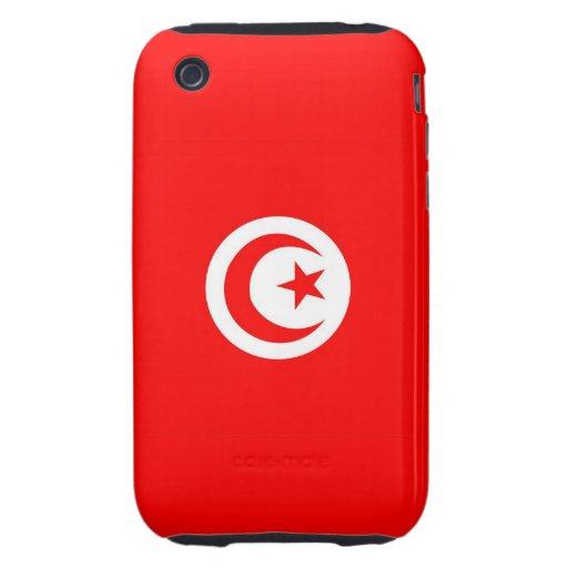 caja de la bandera de país de Túnez iPhone 3 Tough Cárcasas