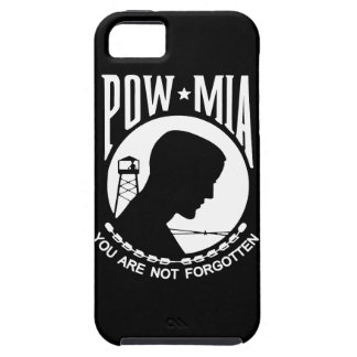 ¡Caja de la bandera de POW MIA - personalizable iPhone 5 Case-Mate Funda