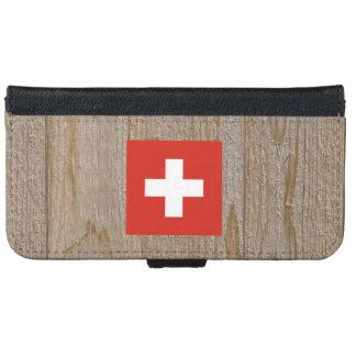 Caja de la bandera de Suiza del diseñador Carcasa De iPhone 6