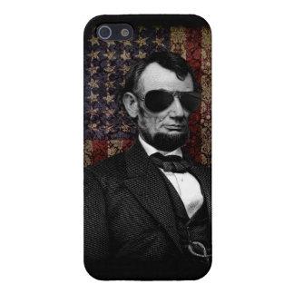 Caja de la bandera del aviador de Lincoln iPhone 5 Protector
