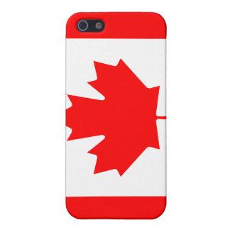 Caja de la bandera iPhone4 de Canadá iPhone 5 Cárcasa