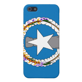 Caja de la bandera nacional de Northern Mariana Is iPhone 5 Carcasas