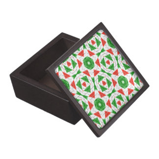 Caja de la baratija del CALEIDOSCOPIO del NAVIDAD Cajas De Joyas De Calidad