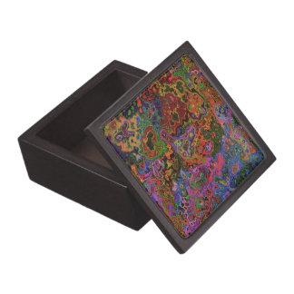 Caja de la baratija del CAOS del COLOR Cajas De Joyas De Calidad