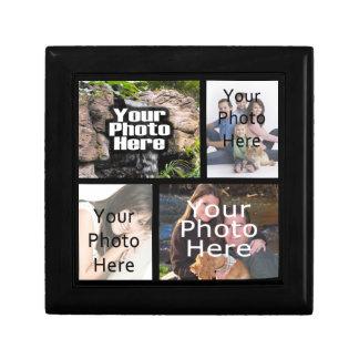 Caja de la baratija del regalo del recuerdo del co caja de recuerdo