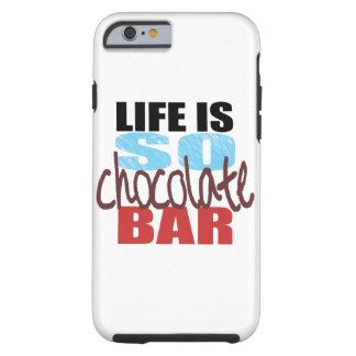 ¡caja de la barra de chocolate del iPhone 6! Funda De iPhone 6 Tough