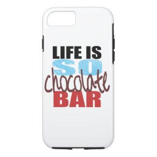 ¡caja de la barra de chocolate del iPhone 7! Funda iPhone 7