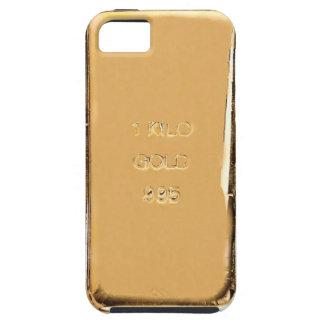Caja de la barra de oro iPhone5 iPhone 5 Case-Mate Carcasas
