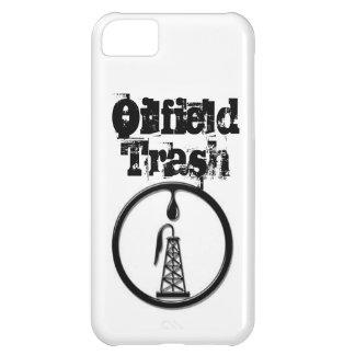 Caja de la basura del campo petrolífero de IPhone  Funda Para iPhone 5C