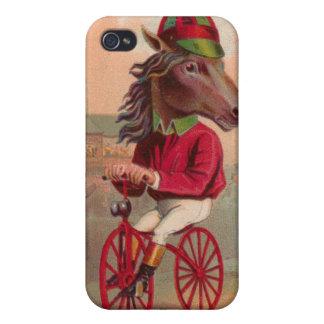 Caja de la bicicleta iphone4 del jinete del caball iPhone 4/4S carcasa