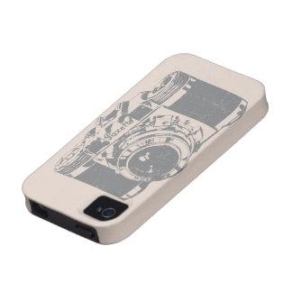 Caja de la cámara iPhone4 del vintage iPhone 4/4S Carcasas