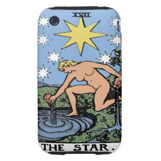"""Caja de la carta de tarot iPhone3 """"de la estrella"""" iPhone 3 Tough Fundas"""