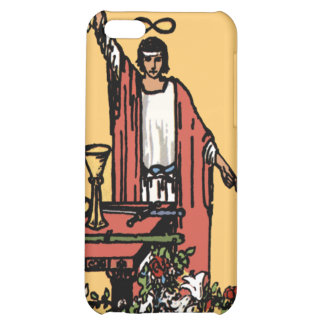"""Caja de la carta de tarot iPhone4 """"del mago"""""""