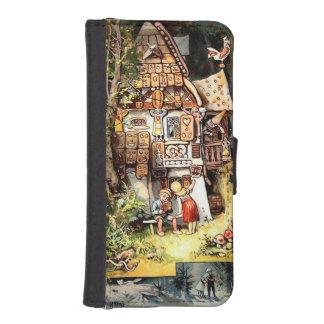 Caja de la cartera de Hansel y de Gretel Fundas Tipo Billetera Para iPhone 5