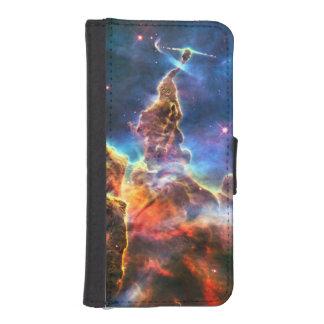 Caja de la cartera de Iphone 5 de la nebulosa de Billeteras Para Teléfono