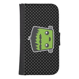 Caja de la cartera de Kawaii Frankenstein Samsung Billetera Para Galaxy S4
