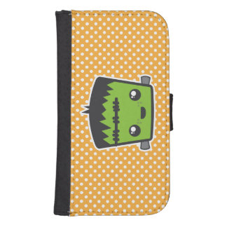 Caja de la cartera de Kawaii Frankenstein Samsung Cartera Para Teléfono
