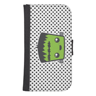 Caja de la cartera de Kawaii Frankenstein Samsung Funda Tipo Cartera Para Galaxy S4