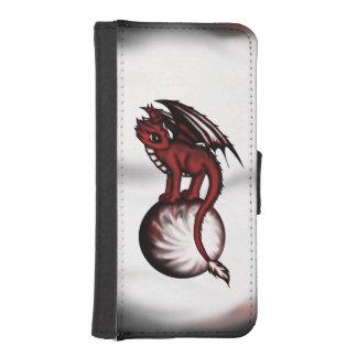 Caja de la cartera de la bola del dragón billetera para teléfono