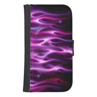 Caja de la cartera de la galaxia S4 de Samsung Billetera Para Teléfono