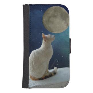Caja de la cartera de la galaxia S4 de Samsung del Cartera Para Galaxy S4