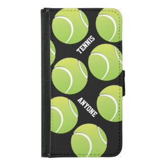 Caja de la cartera de la galaxia S5 del tenis