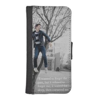 Caja de la cartera de Nash Grier Billetera Para iPhone 5