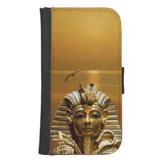 Caja de la cartera de rey Tut Samsung Galaxy S4 Cartera Para Teléfono