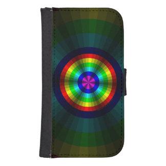 Caja de la cartera de Smartphone del arco iris de Billeteras Para Teléfono