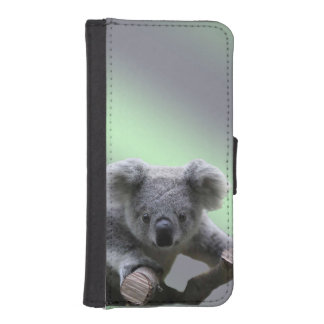 Caja de la cartera del iPhone 5/5s de la koala Fundas Billetera De iPhone 5