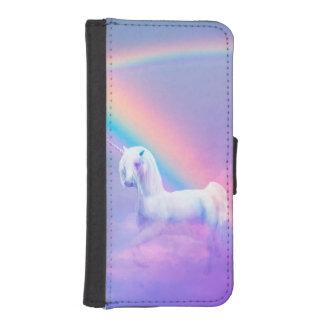 Caja de la cartera del iPhone 5/5s del unicornio Billetera Para iPhone 5
