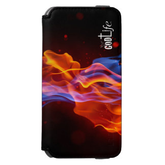 Caja de la cartera del iPhone 6/6s de GodLife® Funda Billetera Para iPhone 6 Watson