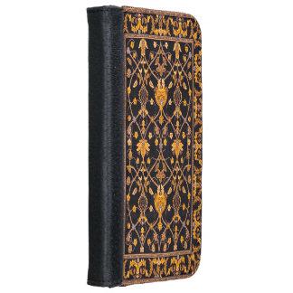 Caja de la cartera del iPhone 6/6S de la alfombra Funda Cartera Para iPhone 6