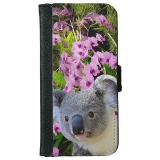 Caja de la cartera del iPhone 6/6s de la koala Carcasa De iPhone 6