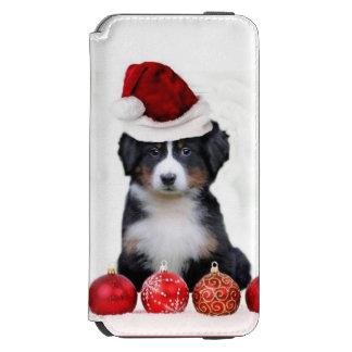 Caja de la cartera del iPhone del perro de montaña Funda Billetera Para iPhone 6 Watson