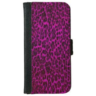 Caja de la cartera del leopardo iPhone6 del Funda Cartera Para iPhone 6