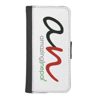 caja de la cartera del Nepali del iphone 5/5s Fundas Billetera Para Teléfono
