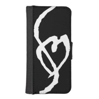 Caja de la cartera del teléfono de la marca de la funda tipo billetera para iPhone 5