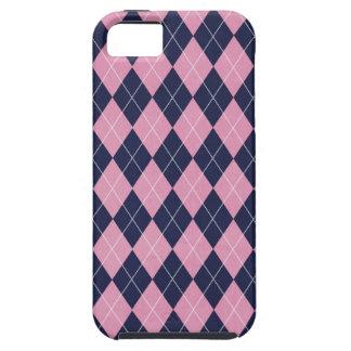 Caja de la casamata de ARGYLE iPhone 5 Case-Mate Cárcasas