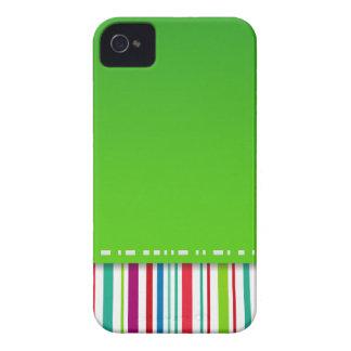 Caja de la casamata de Blackberry de la raya Case-Mate iPhone 4 Coberturas