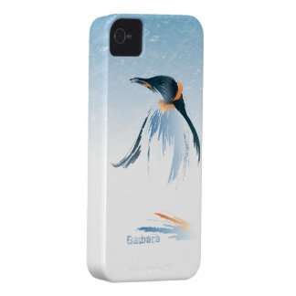 Caja de la casamata de Blackberry del pingüino del Funda Para iPhone 4