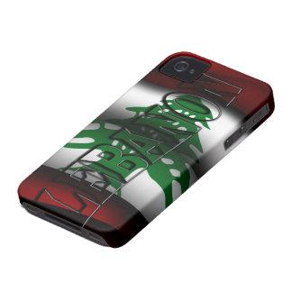 Caja de la casamata de Iphone 4/4S de la bandera d iPhone 4 Fundas