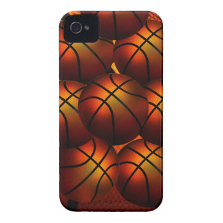 Caja de la casamata de Iphone 4/4S del baloncesto iPhone 4 Case-Mate Cárcasas