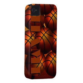 Caja de la casamata de Iphone 4/4S del baloncesto iPhone 4 Coberturas