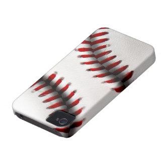 Caja de la casamata de Iphone 4/4S del béisbol Case-Mate iPhone 4 Coberturas