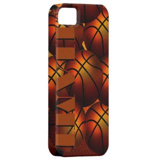 Caja de la casamata de Iphone 5 del baloncesto de Funda Para iPhone 5 Barely There